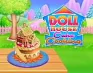 ドールハウスケーキを焼こう