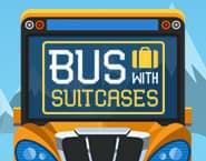 スーツケースでいっぱいのバス