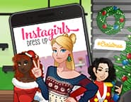 インスタガールのクリスマスドレスアップ