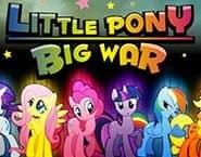 小さなポニーの大きな戦い