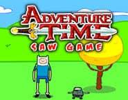 冒険の時間:のこぎりゲーム
