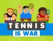 テニスは戦いだ