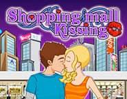 ショッピングモールでキス