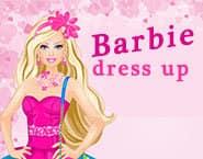 バービーのドレスアップ