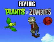 空飛ぶ植物VSゾンビ
