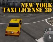 ニューヨークのタクシー免許3D