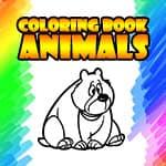 ぬり絵の本‐動物