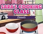 サラのお料理教室:ドーナツ