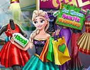 氷の女王の現実のショッピング