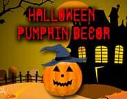 ハロウィンのかぼちゃの飾り付け