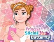 アナのソーシャルメディアバタフライ