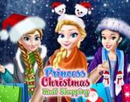 クリスマスモールのショッピング