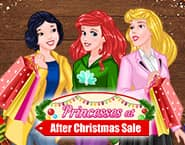プリンセスのクリスマス後のバーゲンセール