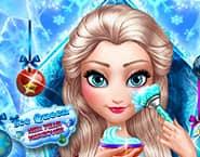 氷の女王の新年のイメチェン