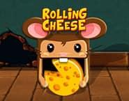 転がるチーズ