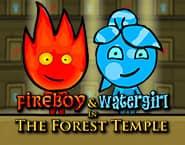火の男の子と水の女の子1